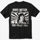 RANDY WATSON SEXUAL CHOCOLATE FUNNY COMING TO AMERICA 1980'S RETRO Black T-Shirt Screen Printing