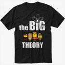 Big Bang Minions Black T-Shirt Screen Printing