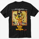 Enter The Dragon - Custom Bruce Lee Black T-Shirt Screen Printing