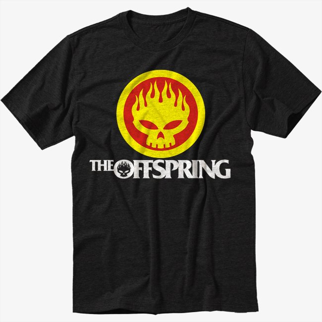 The Offspring Inspired Black T-Shirt