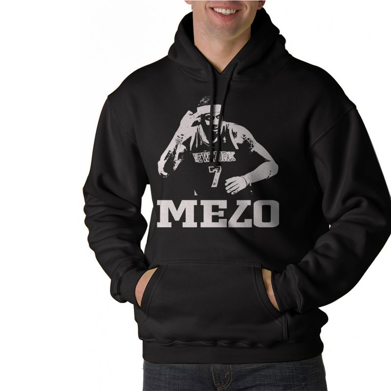 MELO KNICKS CARMELO ANTHONY Black Hoodie