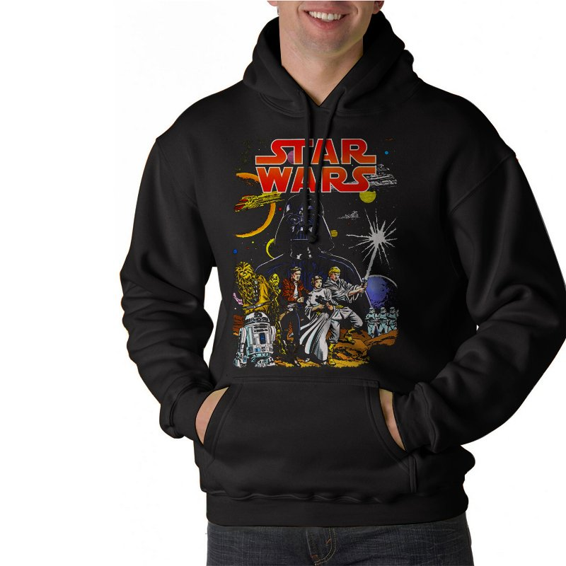 Star Wars Full Force Black Hoodie