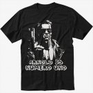 Arnold Is Numero Uno Men Black T Shirt