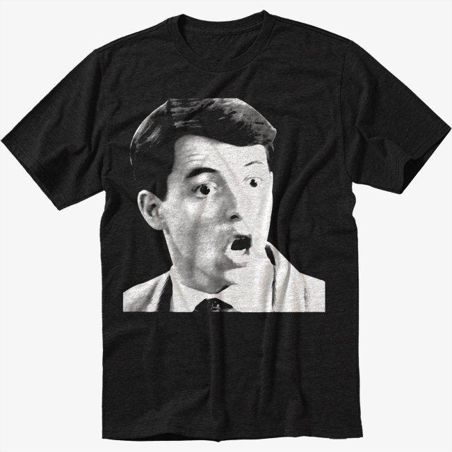 Ferris Bueller T-Shirt Save Ferris 80s movie Men Black T Shirt