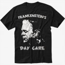 Frankenstein's Day Care Men Black T Shirt