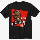 Gus Breaking Bad Los Pollos Hermanos Men Black T Shirt