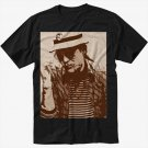 Hunter S. Thompson Men Black T Shirt