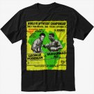 RUMBLE IN THE JUNGLE BOXING LEGEND Men Black T Shirt