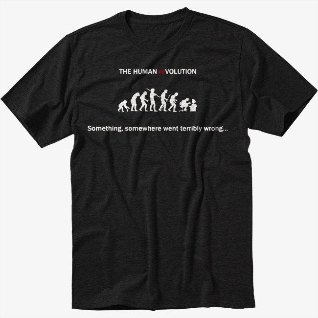 Something, Somewhere Went Terribly Wrong Men Black T Shirt