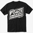 Star Wars Awakens Men Black T Shirt