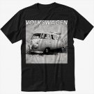 VW volkswagen camper van kombie bus Men Black T Shirt