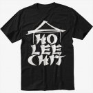 Ho Lee Chit Holy Funny Asian Buffet Men Black Tshirt