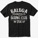 BALBOA BOXING CLUB ROCKY Black T-Shirt