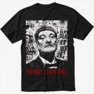 Bill Murray Christmas Funny Black T-Shirt
