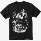 Chica FNAF Five Nights at Freddy's Horror Black T-Shirt