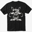 Foxy FNAF Five Nights at Horror Black T-Shirt