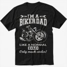 I'm A Biker Dad Funny Motorbike Men Black T-Shirt