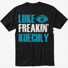 Luke Kuechly Carolina Panthers Funny number 59 Men Black T-Shirt
