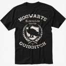 Ravenclaw Quidditch Funny Harry Hog Potter Warts Beater House  Men Black T-Shirt