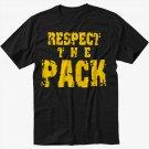 Respect the Pack Green Bay Packers Go Pack Men Black T-Shirt
