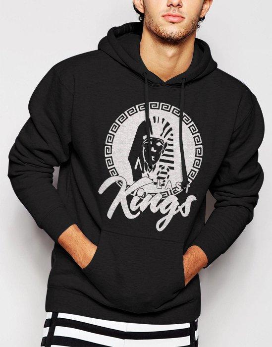 New Rare Tyga Last Kings Script YMCMB Rack City Men Black Hoodie Sweater