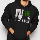 New Rare Night of the Living Dead george romero zombie, horror Men Black Hoodie Sweater