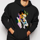 New Rare Nikola Tesla Men Black Hoodie Sweater