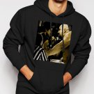 New Rare Over The Top Stallone 80s Movie Men Black Hoodie Sweater