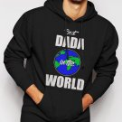 New Rare Best DADA in the World Fathers Day Gift Present Men Black Hoodie Sweater