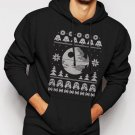 New Rare Dark Side of the Force Star Wars Ugly Sweater Men Black Hoodie Sweater