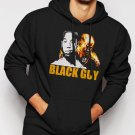 New Rare Fantastic Four Black Guy Men Black Hoodie Sweater