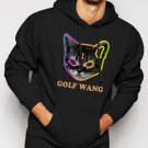 New Rare Golf Wang Cat OFWGKTA Tyler the Creator Odd Future Wolf Gang Men Black Hoodie Sweater