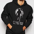 New Rare It Cant Rain All The Time The Crow Men Black Hoodie Sweater