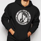 New Rare SASQUATCH RESEARCH TEAM Men Black Hoodie Sweater