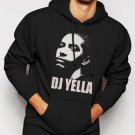 New Rare Straight Outta Compton DJ Yella Men Black Hoodie Sweater