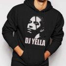 New Rare Straight Outta Compton DJ Yella Men Black Hoodie Sweater
