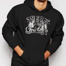 New Rare This Boy Loves Christmas Men Black Hoodie Sweater