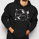 New Rare Weapon Of Choice DJ Turntable Club Men Black Hoodie Sweater