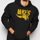 New Rare VIKES Minnesota Vikings Men Black Hoodie Sweater