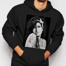 New Rare Amy Winehouse Jazz Music Camden Town Men Black Hoodie Sweater
