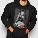 New Rare Ariana Grande Sexy Stage Problem Men Black Hoodie Sweater