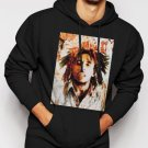 New Rare Bob Marley Rasta Reggae Music R&B Men Black Hoodie Sweater