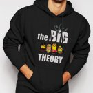 New Rare Big Bang Minions Men Black Hoodie Sweater