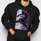 New Rare Cat Woman Men Black Hoodie Sweater
