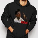 New Rare Chris Birdman Andersen FACE Men Black Hoodie Sweater