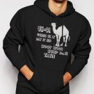 New Rare Hump Day Woot! Woot! Men Black Hoodie Sweater