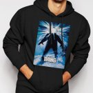 New Rare John Carpenter's The Thing - Men Black Hoodie Sweater
