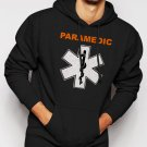 New Rare PARAMEDIC EMS Star of Life symbol Men Black Hoodie Sweater