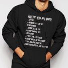 New Rare Rules For Dating My Daughter - Fathers Day Gift Birthday Men Black Hoodie Sweater