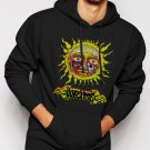 New Rare Sublime Sun Men Black Hoodie Sweater